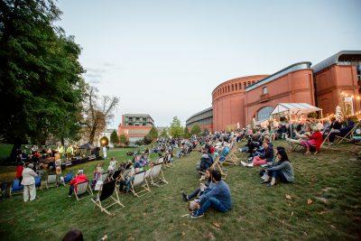 Jazzowy relaks w Parku Starego Browaru