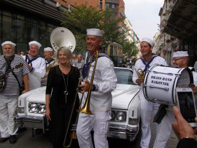Diane Davidsom USA i Rakownik Brass Band Czechy